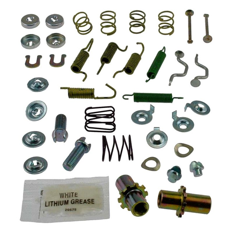 Parking Brake Hardware Kit Rear Carlson 17399 fits 01-04 Hyundai Santa Fe