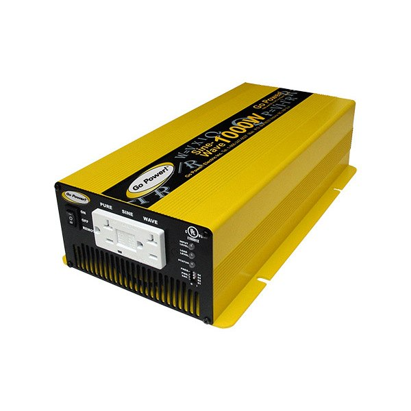 ... Carmanah GP-SW1000-24 - Go Power Pure Sine Wave Inverter (1000W, 24V