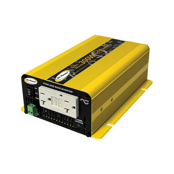 ... Carmanah GP-SW300-12 - Go Power DC-AC 300W Pure Sine Wave Inverter