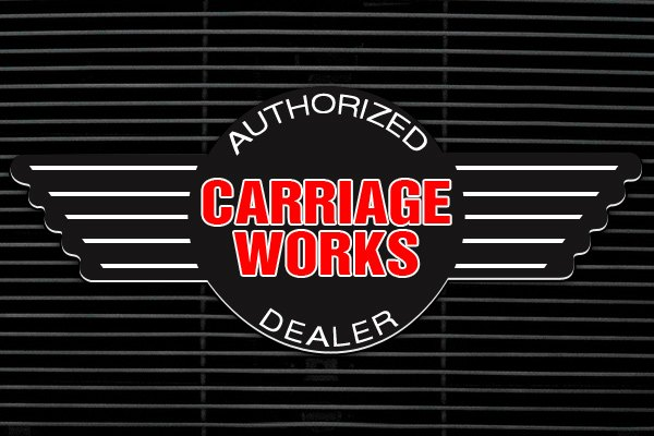 authorized dealer Carriage Works 42613   Black Billet Main Grille