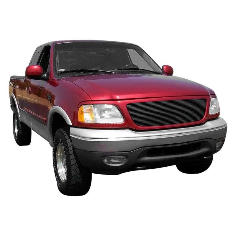 2002 Ford F 150: Ford F-150 2002 Black Billet Grille