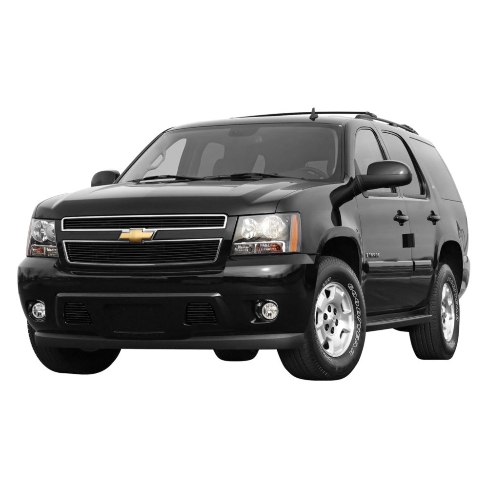 Carriage Works Chevy Avalanche 2007 2013 Black Billet Grille