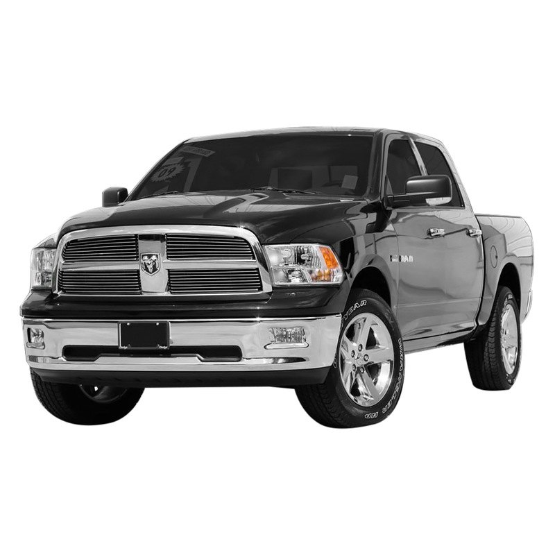 Carriage Works 174 Dodge Ram 2010 2012 Brushed Billet Grille