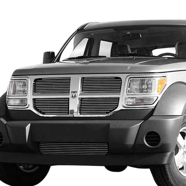 For Dodge Nitro 2007-2010 Carriage Works 2-Pc Polished