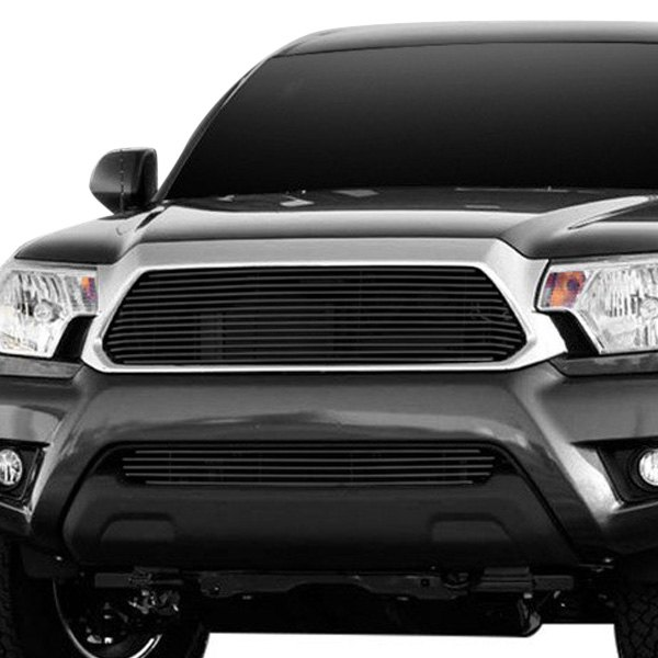 Carriage works toyota tacoma 2012 1 pc black billet - 2013 toyota tacoma interior accessories ...