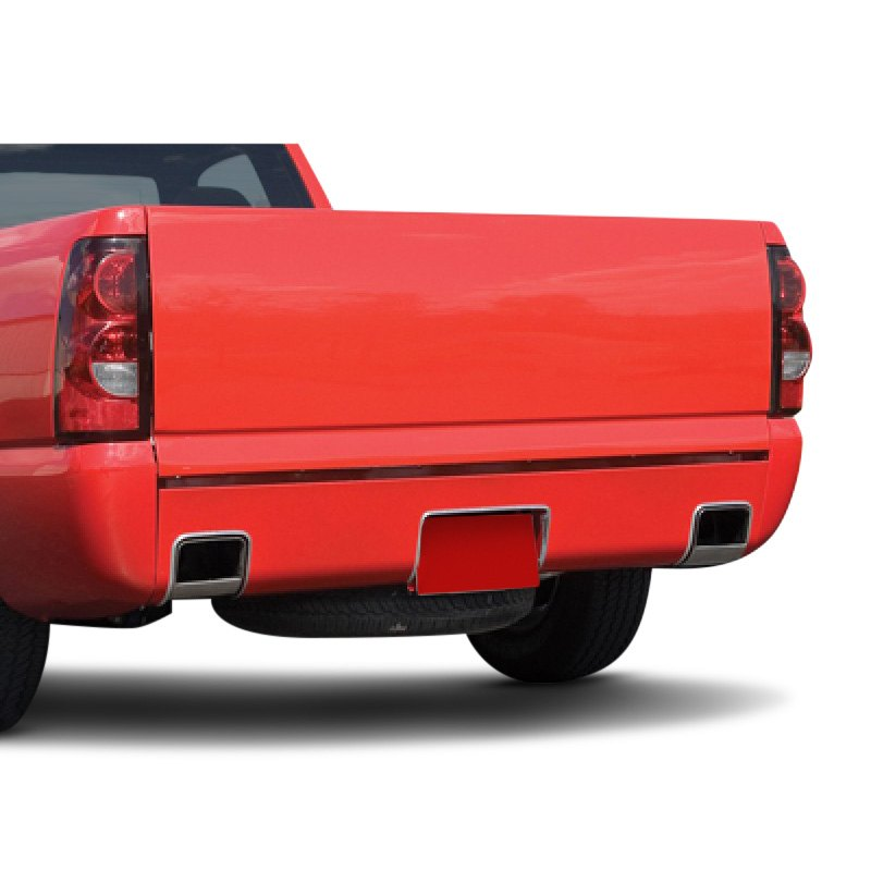 Rear Roll Pan With Square Exhaust
