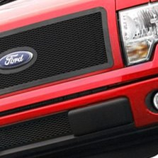 Carriage Works® - Billet Grille on Red Ford F-150