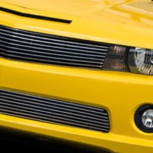 Carriage Works® - Billet Grille on Yellow Chevy Camaro