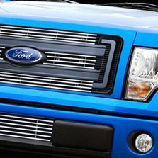 Carriage Works® - Billet Grille on Blue Ford F-150