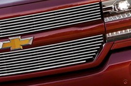 Carriage Works® - Grille on Chevy Silverado