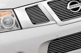 Carriage Works® - Grille on Nissan Armada
