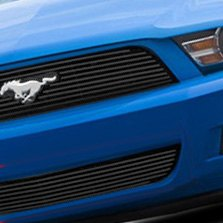 Carriage Works® - Billet Grille on Blue Ford Mustang