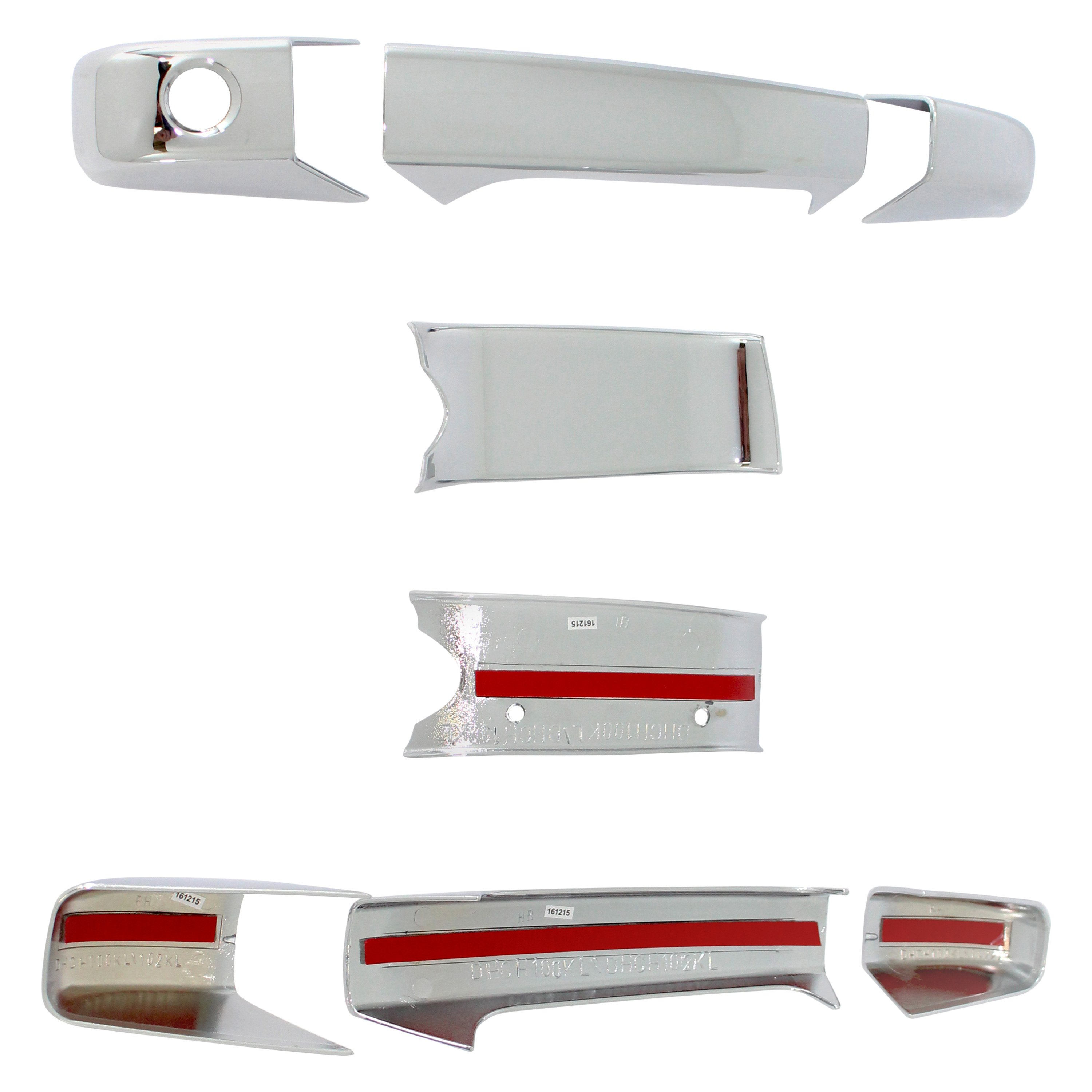 Carrichs 174 Dhch102kl Chrome Door Handle Covers