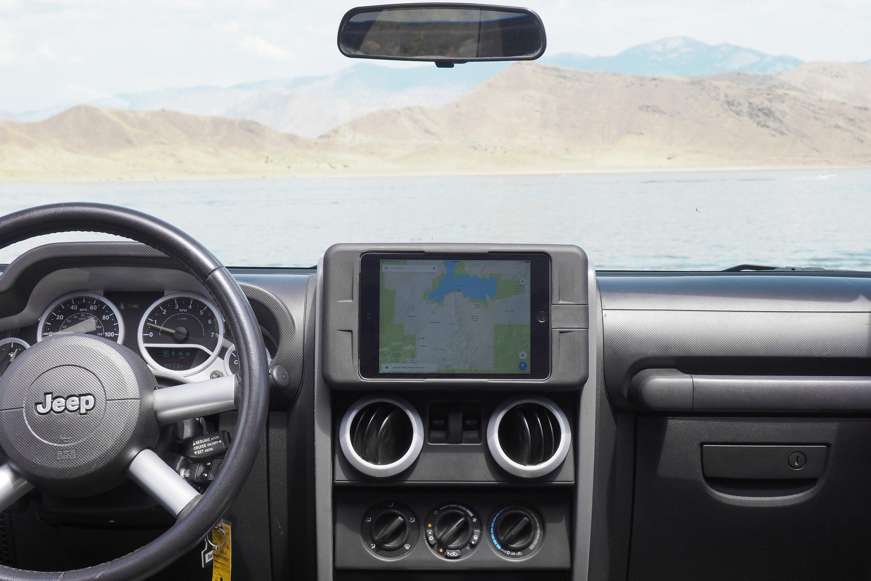 Carrichs Jeep Wrangler 2007 Ipad Mini Tablet Dash Kit Accessories Kitcarrichs
