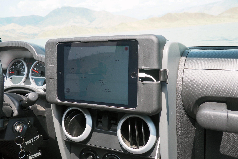 Jeep Dash Kits Accessories Carrichs Wrangler Ipad Mini Tablet Kit 3000x2000