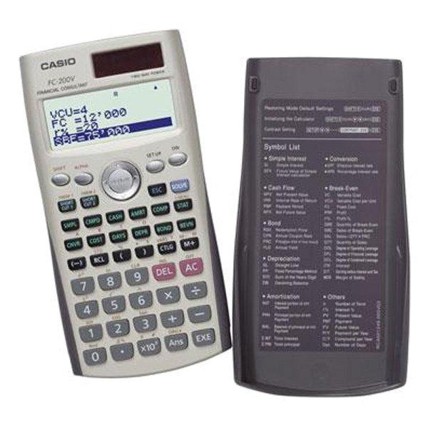 Casio FC200VSIH FC200 Financial Calculator – Financial Calculator