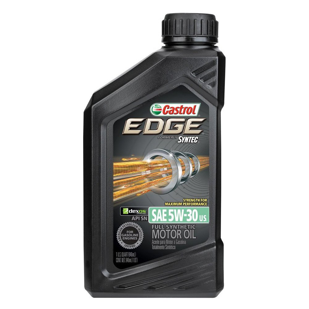 castrol 06248 sae 5w 30 edge motor oil with syntec. Black Bedroom Furniture Sets. Home Design Ideas