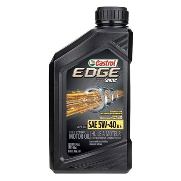 Castrol Edge Motor Oil With Syntec Power Technology