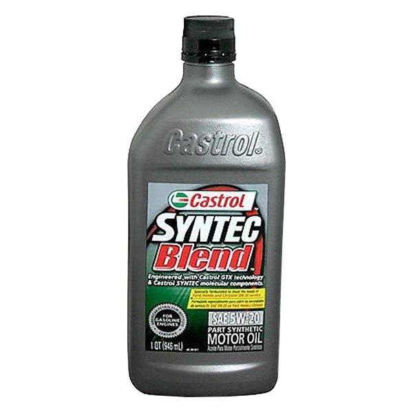 Castrol Gtx Syntec Blend Motor Oil