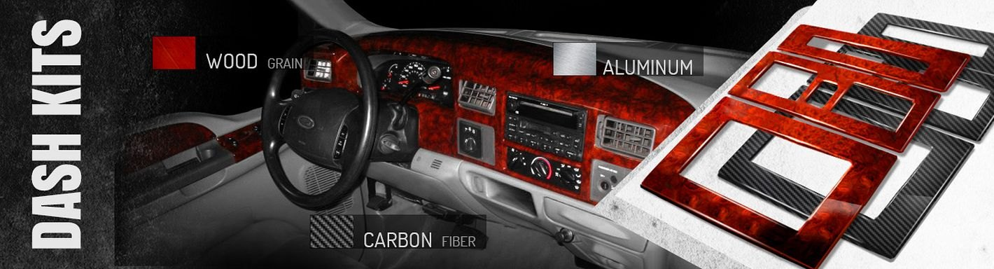 Ford F-550 Dash Kits - 2002