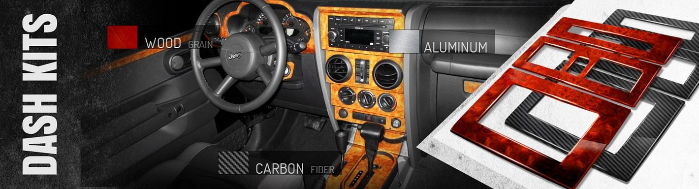 Jeep Wrangler Dash Kits - 2010