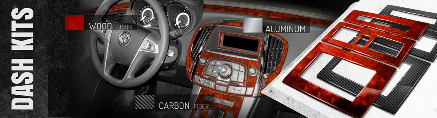 Wood Or Carbon Fiber Trim For Buick Interior And Exterior