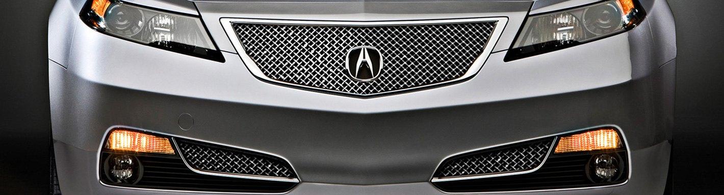 2014 Acura Tl Custom Grilles Billet Mesh Led Chrome
