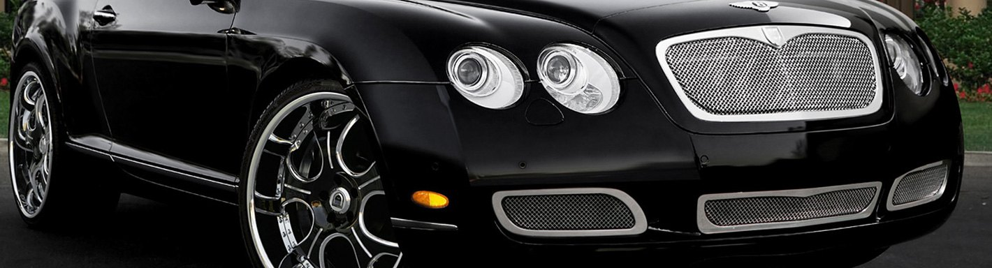 Bentley GT Billet Grilles - 2010