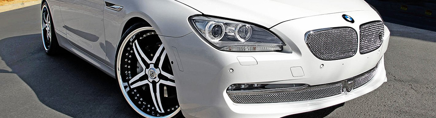 BMW 6-Series Custom Grilles - 2012