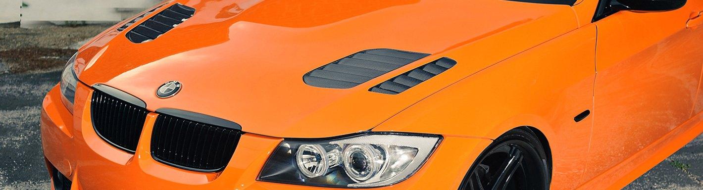 BMW 3-Series Custom Hoods | Carbon Fiber, Fiberglass — CARiD com