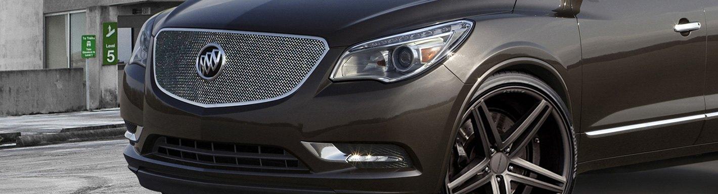 2014 Buick Enclave Custom Grilles | Billet, Mesh, LED ...