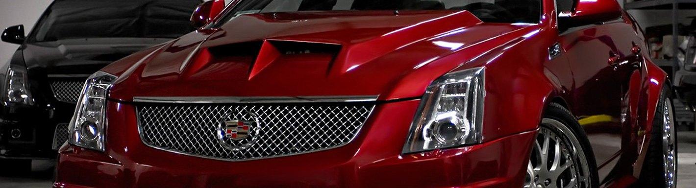 2007 Cadillac Escalade Aftermarket Headlights >> Cadillac CTS Custom Hoods | Carbon Fiber, Fiberglass ...