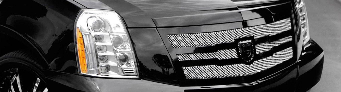 Cadillac Escalade Custom Grilles | Billet, Mesh, CNC, LED