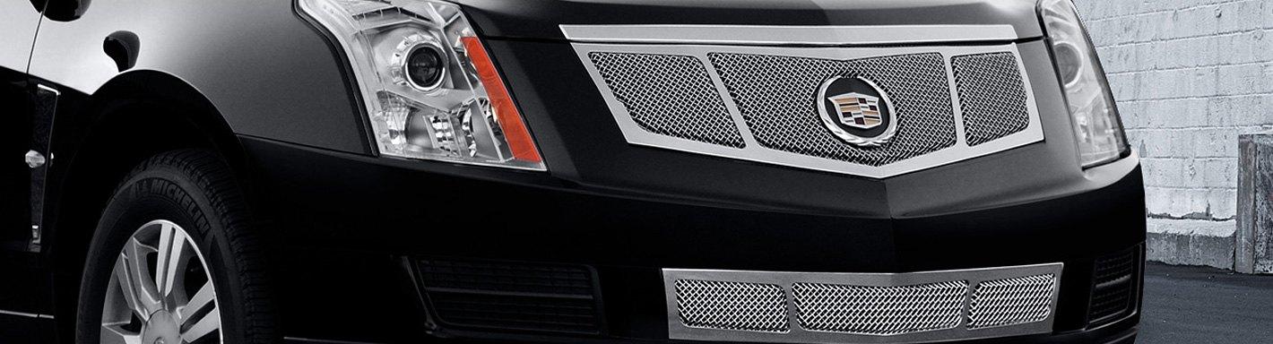 Cadillac Srx Custom Grilles Billet Mesh Cnc Led
