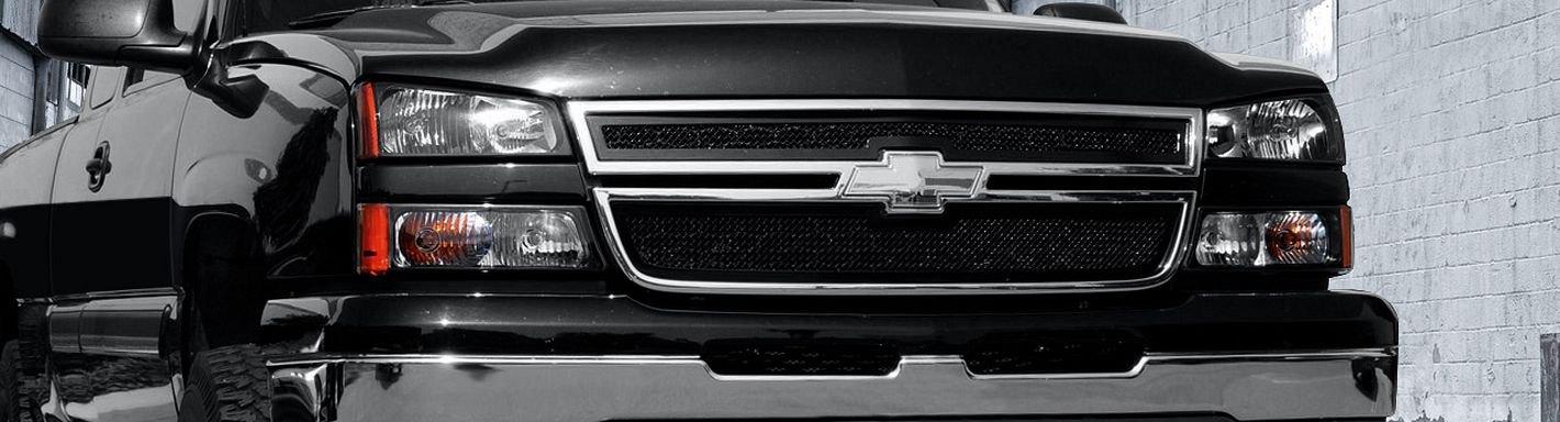 2002 Chevy Silverado Custom Grilles | Billet, Mesh, LED ...
