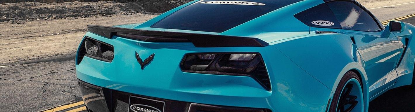 2015 Chevy Corvette Custom Headlight Tail Light Covers
