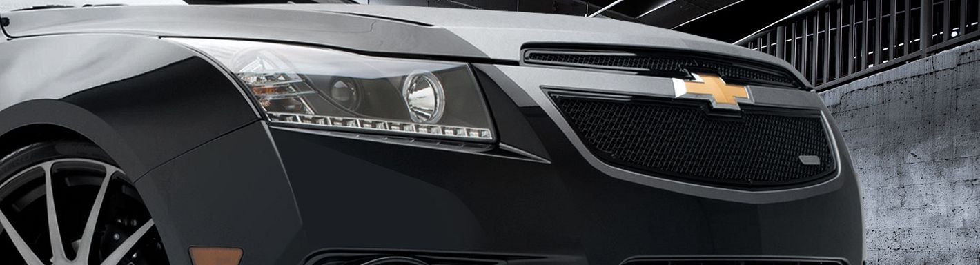 Chevy Cruze Custom Grilles Billet Mesh Cnc Led Chrome Black