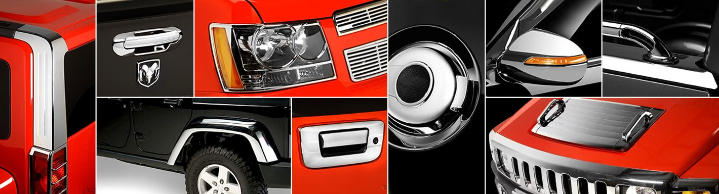 Scion xD Trim Chrome - 2011