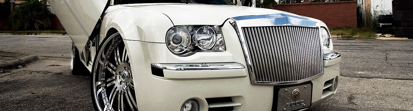 Chrysler 300 Custom Grilles Billet Mesh Cnc Led