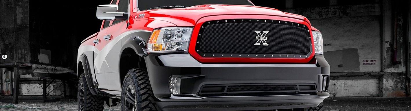 Dodge Ram Custom Grilles Billet Mesh Cnc Led Chrome