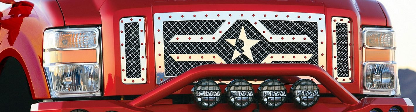 Ford F-350 Custom Grilles - 2008