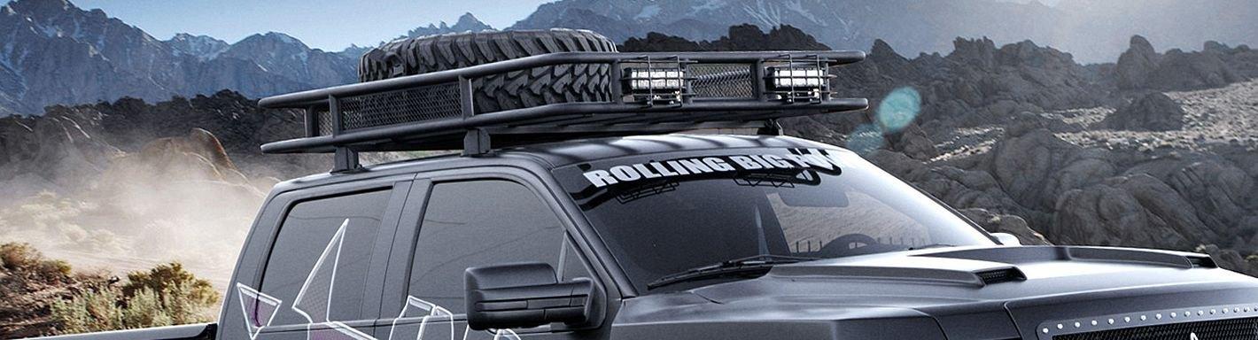 2013 Ford F 150 Roof Racks Cargo Boxes Ski Racks Kayak