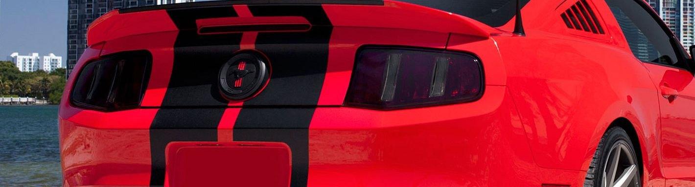 2012 Ford Mustang Custom Headlight Tail Light Covers Carid Com