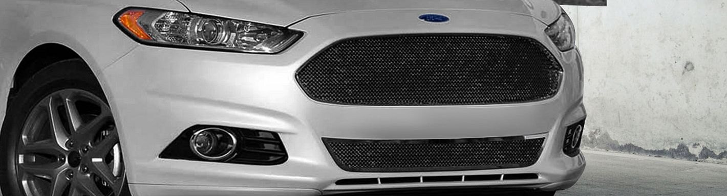 2013 Ford Fusion Black Grille | galleryhip.com - The