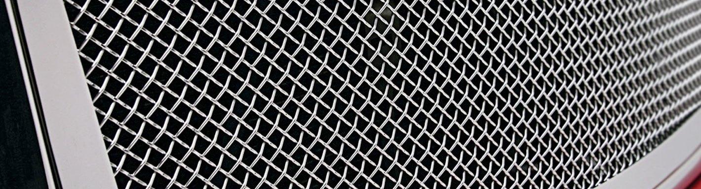 Fiat Custom Grilles Billet Mesh Cnc Led Chrome Black