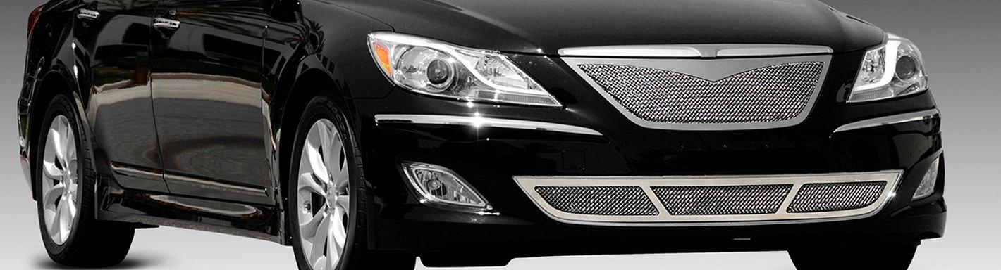 2012 Hyundai Genesis Custom Grilles Billet Mesh Led