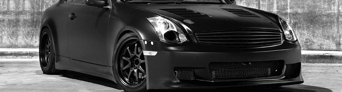 2005 Infiniti G35 Custom Grilles | Billet, Mesh, LED ...