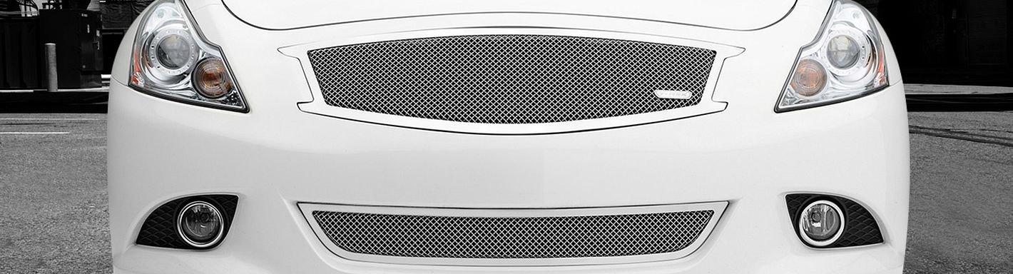 2013 Infiniti G37 Custom Grilles | Billet, Mesh, LED ...