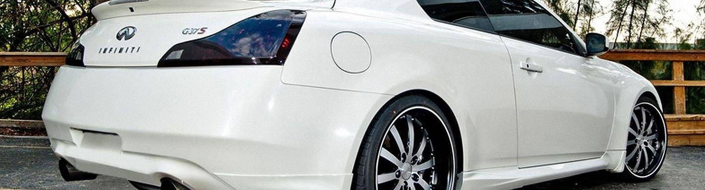 2011 infiniti g37 coupe tail lights