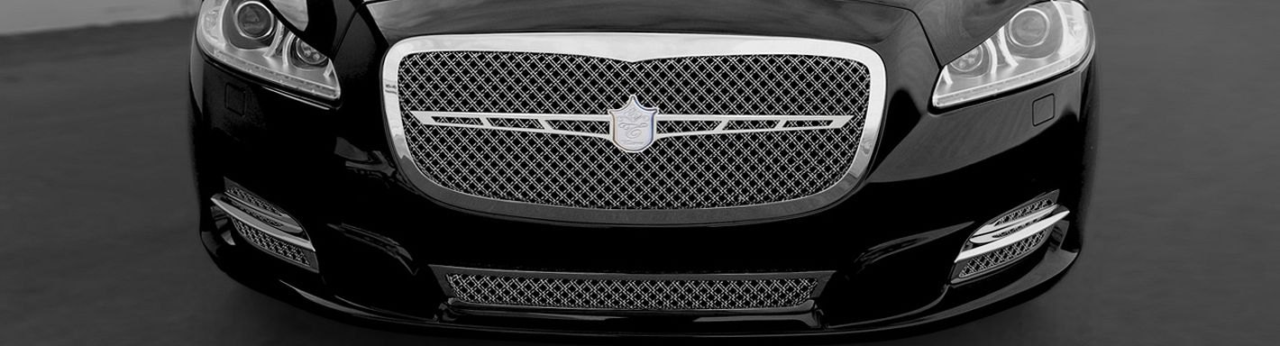 2011 jaguar xj type custom grilles billet mesh led. Black Bedroom Furniture Sets. Home Design Ideas